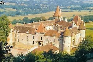Château de Bazoches, замки Бургундии, самые красивые замки во Франции