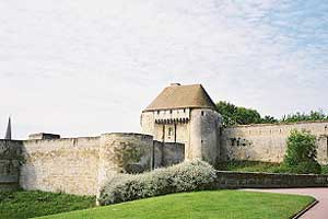 Castle of Caen Lower Normandy region Caen Castle French castle Tourism