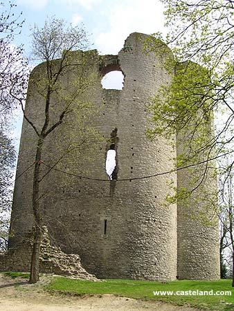 Photos du chateau d 39 etampes donjon et tour de guinette for Chateau etampes